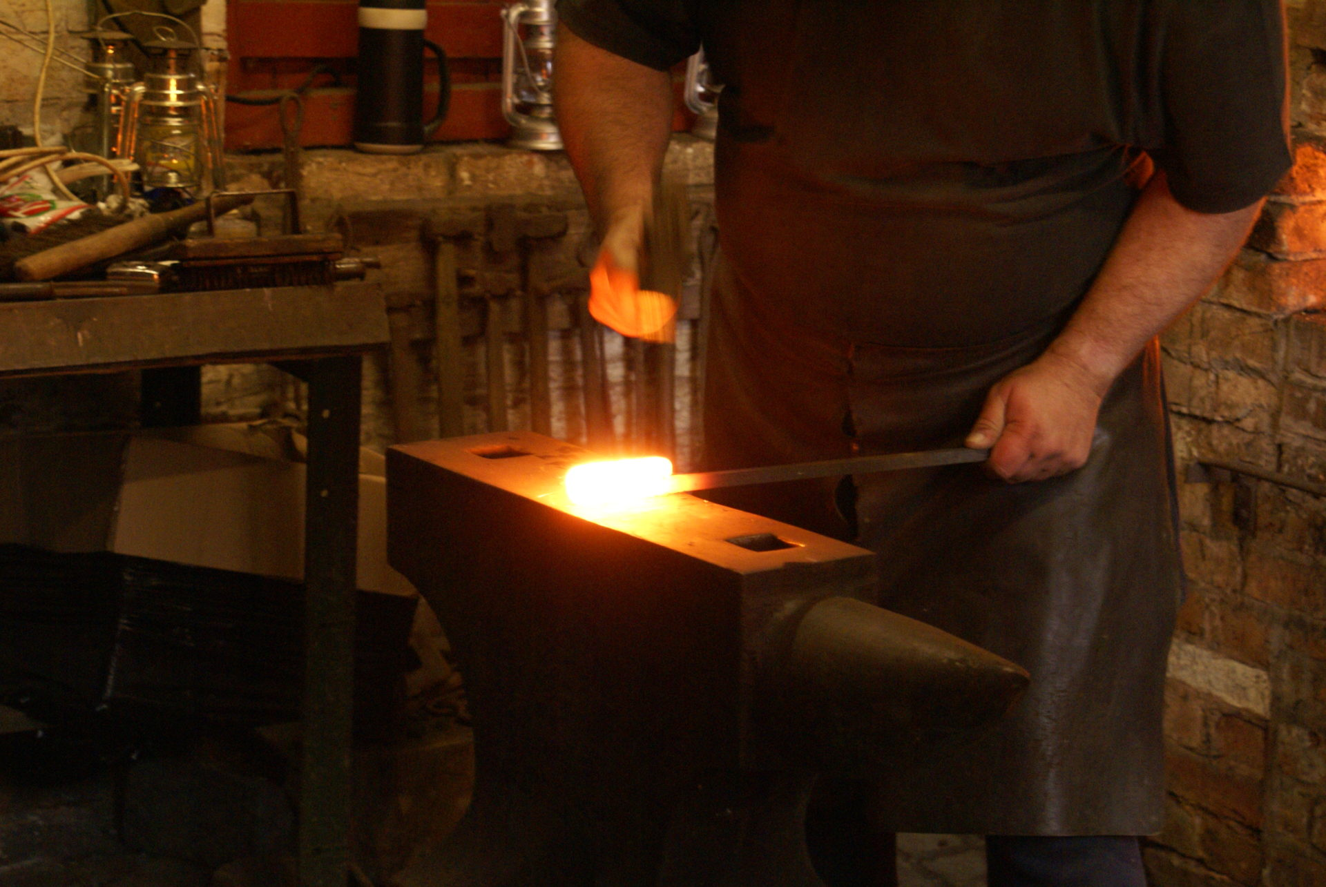 Avoncroft's Blacksmithing Courses are inspirational