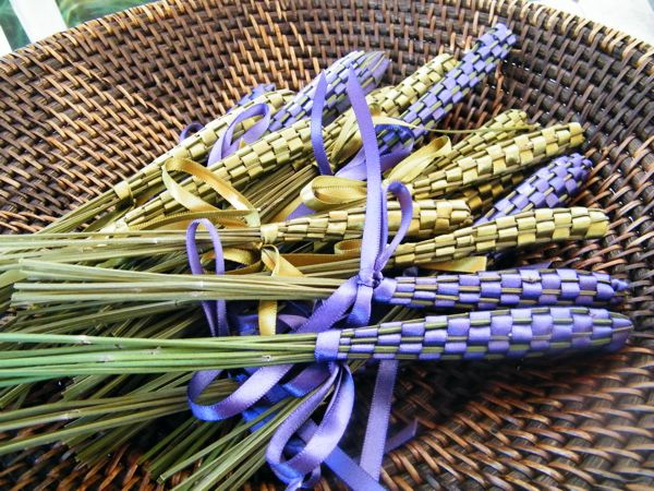 Lavender Wand Making August 2019