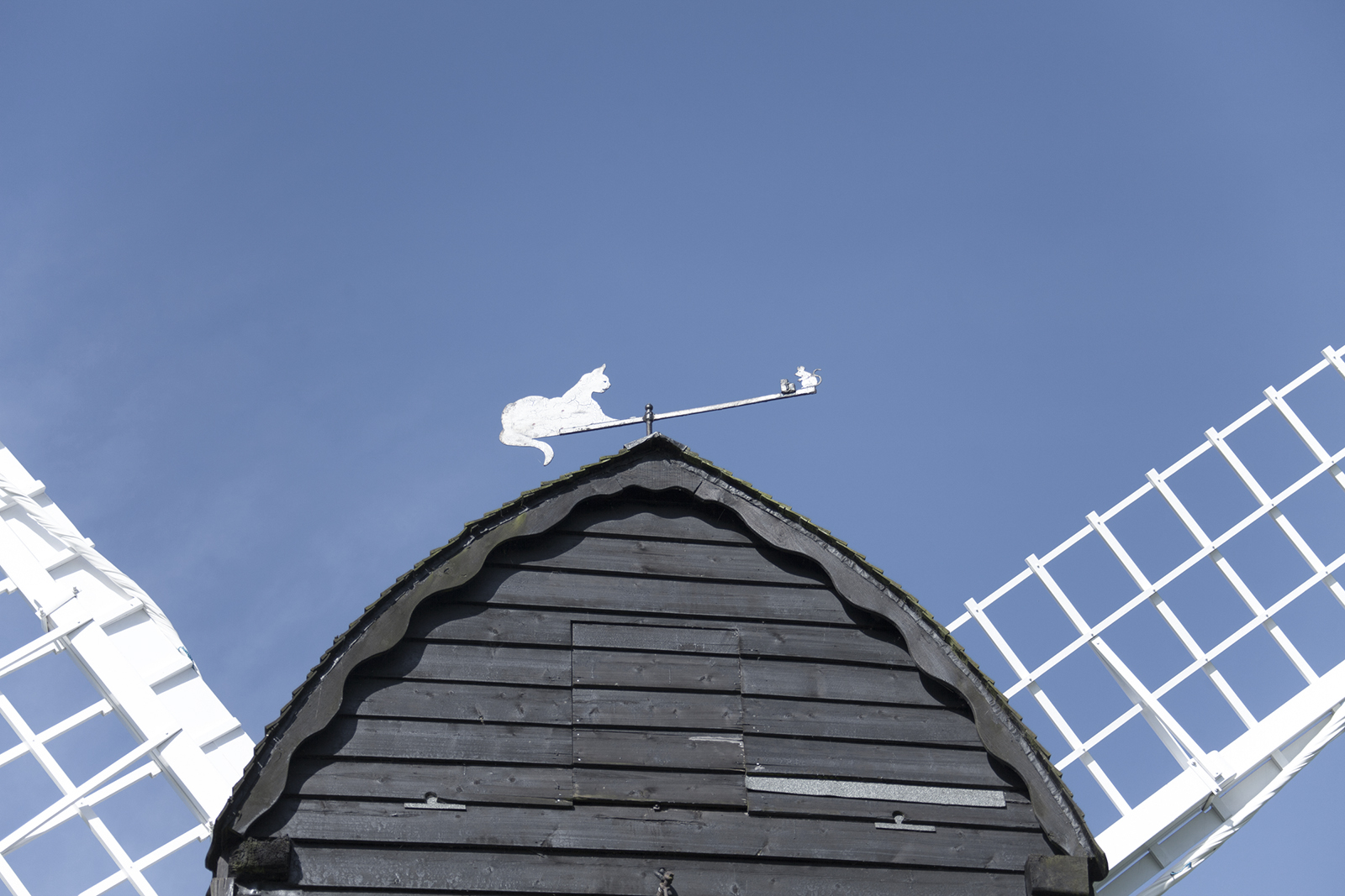 Iconic windmill restored at Avoncroft Museum