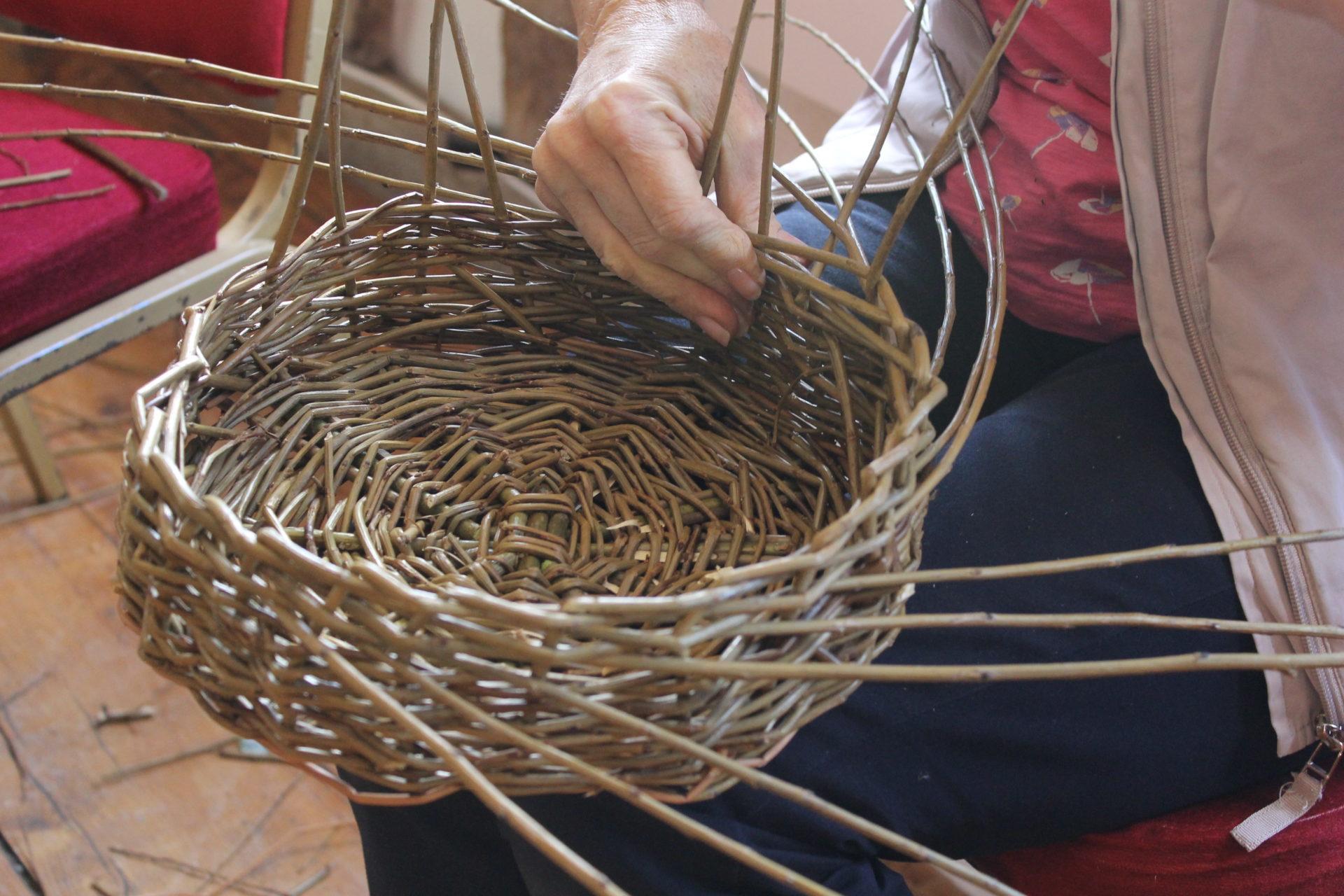 Basket Weaving June 2020 – Morning