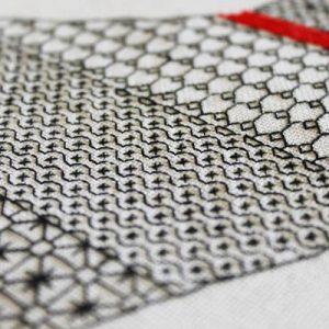 Blackwork Embroidery May