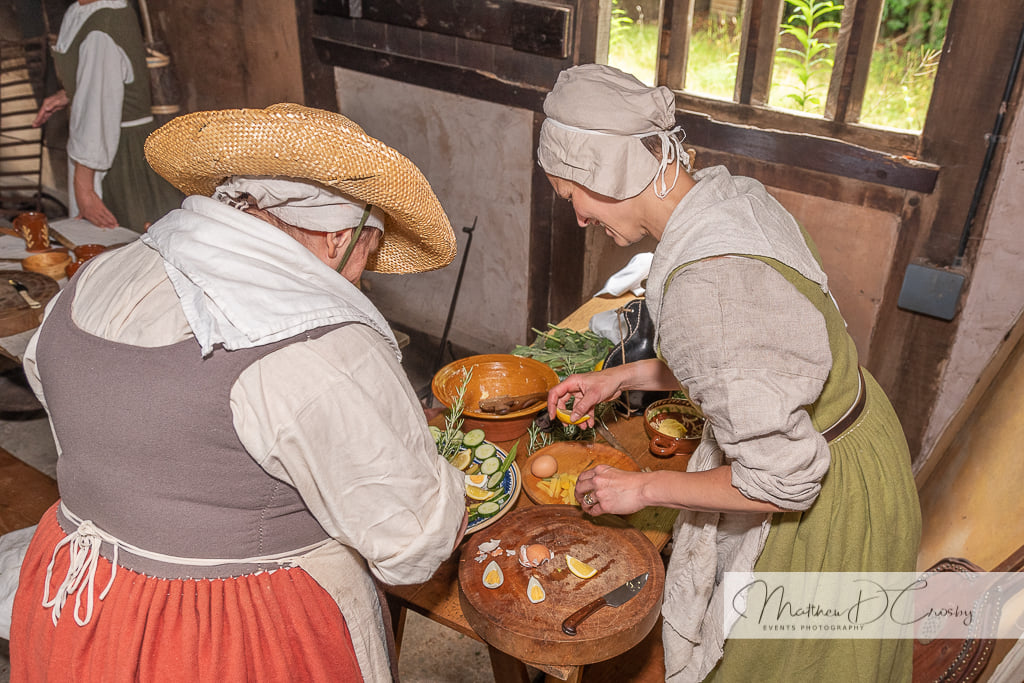 Devereux's 17th Century Household